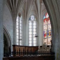 L'abside vue vers le nord-est (2005)