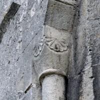 Chapiteau cubique d'une fenêtre de l'abside (2007)