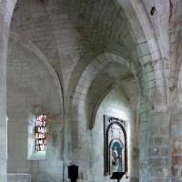 Vue partielle des parties orientales de l'église vers le sud-est (2008)