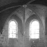 La chapelle haute du choeur vue vers l'est