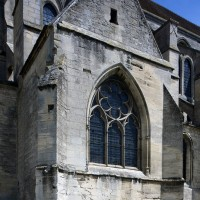 La chapelle sud vue du sud-ouest (2017)