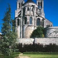 Le chevet de l'église vu de l'est (1996)