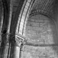 Vue partielle du voûtement d'une chapelle du déambulatoire