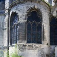La chapelle rayonnante au nord-est du déambulatoire (2017)