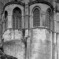 Les deux chapelles rayonnantes du sud-est