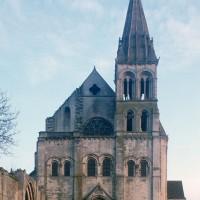 La façade ouest de l'église