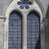 Fenêtre haute de la nef, au sud (2017)