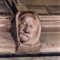 Blochet de la charpente de la nef (2005)
