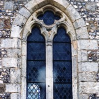 Fenêtre du mur sud de la nef (2005)