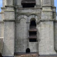 Le premier étage du clocher vu du sud (2017)
