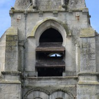 Le deuxième étage du clocher vu du sud (2017)