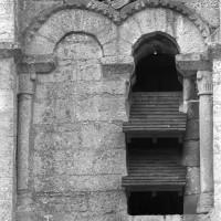 Le premier étage du clocher vu du sud (2000)