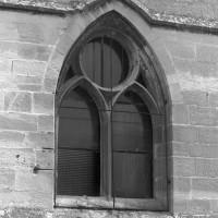 La fenêtre de la dernière travée de la chapelle sud (2000)