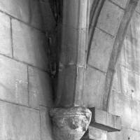 Retombée de voûtes dans la chapelle sud (2000)
