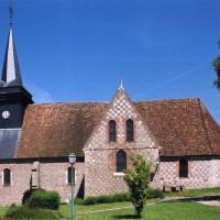 L'église vue du sud (2004)
