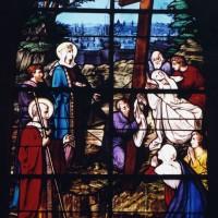 Vitrail de l'Invention de la Sainte Croix (2003)