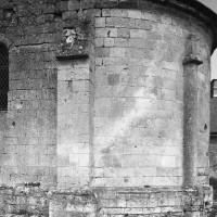L'abside vue du sud-est