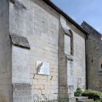 Vue partielle du mur sud de la nef vu du sud-ouest (2008)