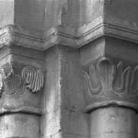 Chapiteaux des arcades du mur gouttereau nord de la nef (1995)