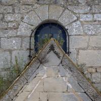 La fenêtre romane de la façade (2017)