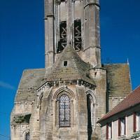 L'église vue de l'est