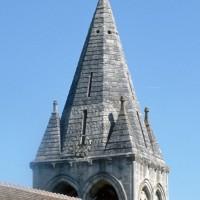 Le clocher vu depuis le sud-ouest (1994)
