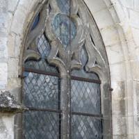 Fenêtre au nord de la seconde nef (2016)
