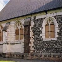 Vue partielle de l'église depuis le nord-ouest (2004)
