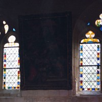Fenêtres du choeur vues vers le nord (2005)