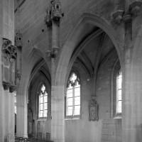 Vue partielle de la nef vers le sud-est depuis le bas-côté nord