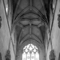 Les voûtes de la nef vues vers l'ouest