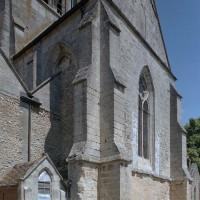 Le bras nord du transept vu du nord-est (2002)