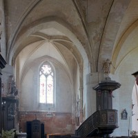 Le bras sud du transept vu vers le sud (2002)