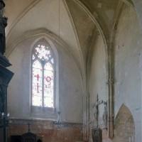 Le bras sud du transept vu vers le sud-ouest (2002)
