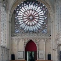 Le revers de la façade de la chapelle de la Vierge vu vers l'ouest (2003)