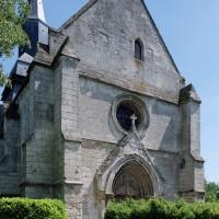 La façade vue du nord-ouest (2004)