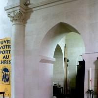 Arcade de communication entre le choeur et la chapelle nord (2006)
