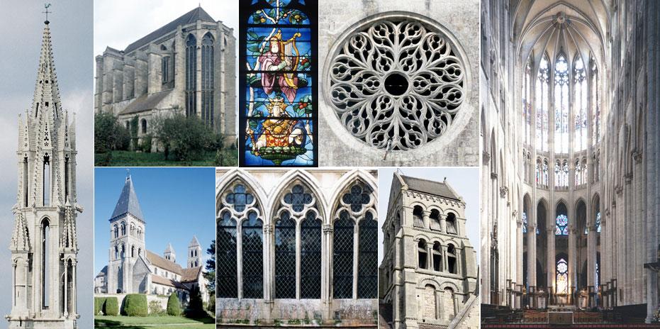 Art roman et gothique dans l'Oise