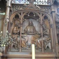 Détail de l'autel-retable (2008)