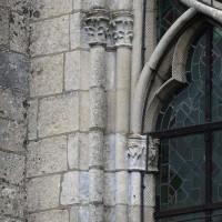 Détails de la fenêtre ouest de la nef (2016)