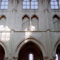 Elevation d'une travée nord de la nef (2008)
