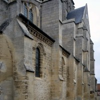 Vue partielle de la nef depuis le sud-ouest (2016)