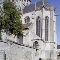 Le choeur et le clocher vus du sud-est (2008)