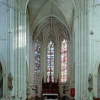Le choeur vu vers l'est (2008)