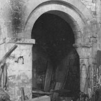 L'arcade de la dernière travée nord de la nef (1969)