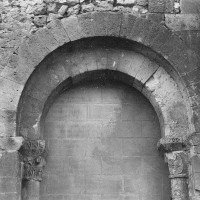 Arcade est du bas-côté sud de la nef (1969)