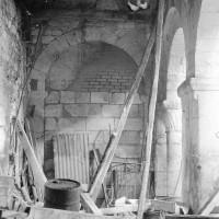 Le bas-côté nord de la nef vu vers l'est (1969)