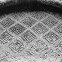 Détail du tympan du portail ouest (1969)
