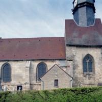 La nef et la travée du clocher vues du sud (2008)