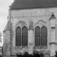 La chapelle du 13ème siècle vue du nord (1997)